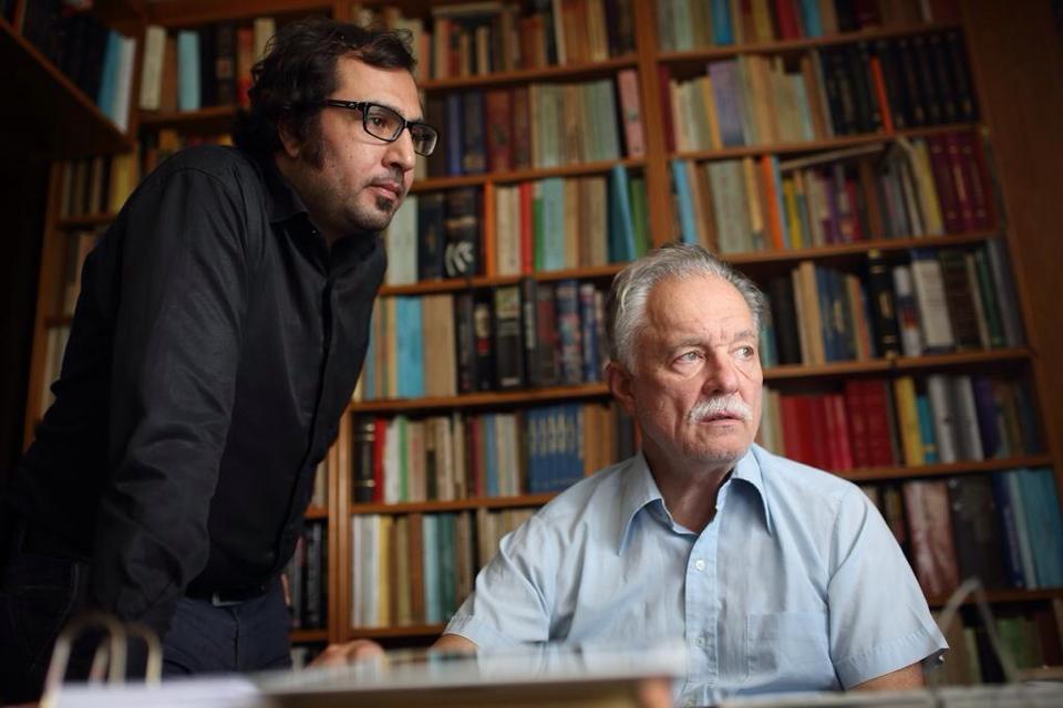 Mehmet Sabri Genç ve Prof. Dr. Teoman Duralı